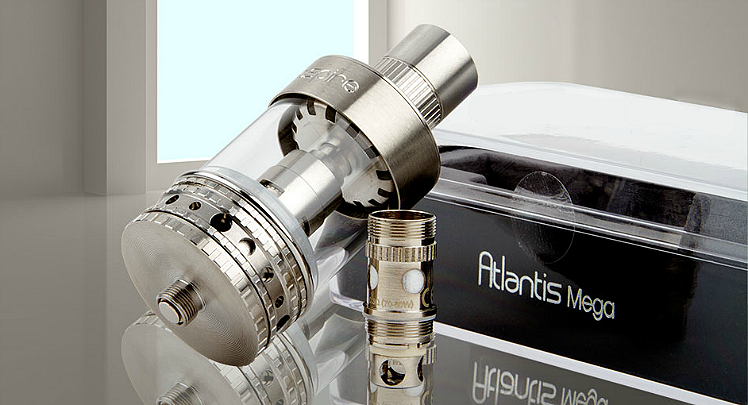 ΑΤΜΟΠΟΙΗΤΉΣ - ASPIRE Atlantis Mega Sub Ohm Clearomizer