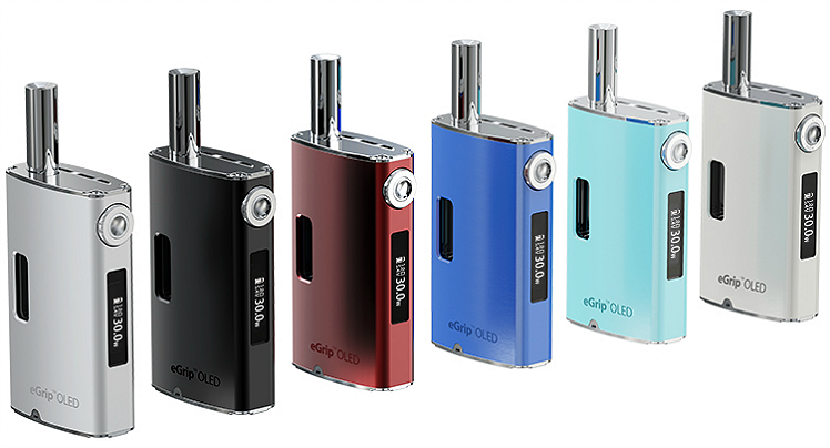 KIT - Joyetech eGrip OLED CL 30W VV/VW ( Stainless )