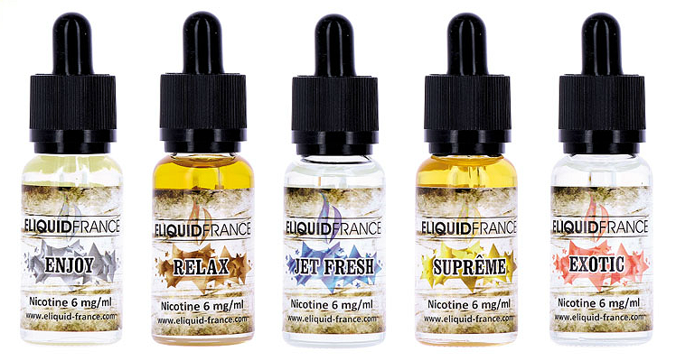 20ml SUPREME 6mg eLiquid (With Nicotine, Low) - eLiquid by Eliquid France