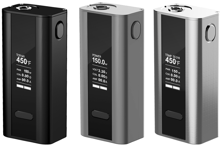 KIT - Joyetech CUBOID 150W - 200W TCR Box Mod ( Black )