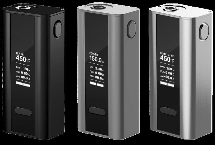 KIT - Joyetech CUBOID 150W - 200W TCR Box Mod ( Grey )