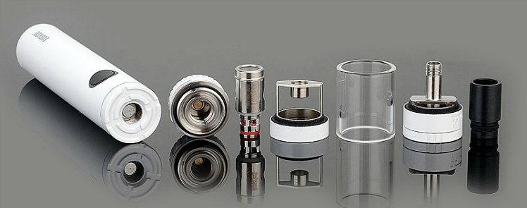 KIT - Kanger SUBVOD Sub Ohm Starter Kit ( White )
