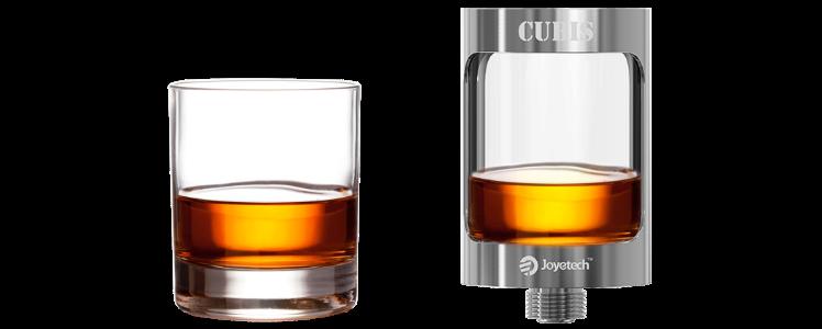 ΑΤΜΟΠΟΙΗΤΉΣ - JOYETECH CUBIS Cupped TC Clearomizer ( Gold )