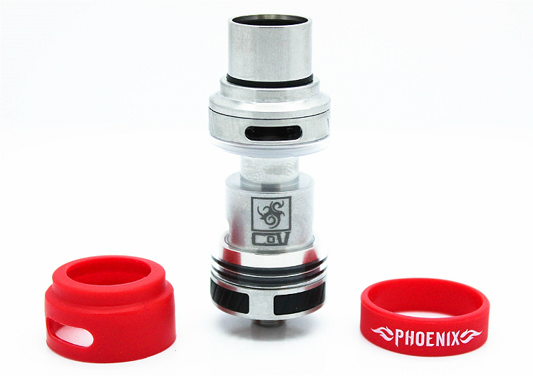 ΑΤΜΟΠΟΙΗΤΉΣ - COUNCIL OF VAPOR Phoenix Ceramic Coil Atomizer ( Stainless )