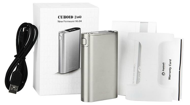 ΜΠΑΤΑΡΙΑ - Joyetech CUBOID 200W TC ( Silver )
