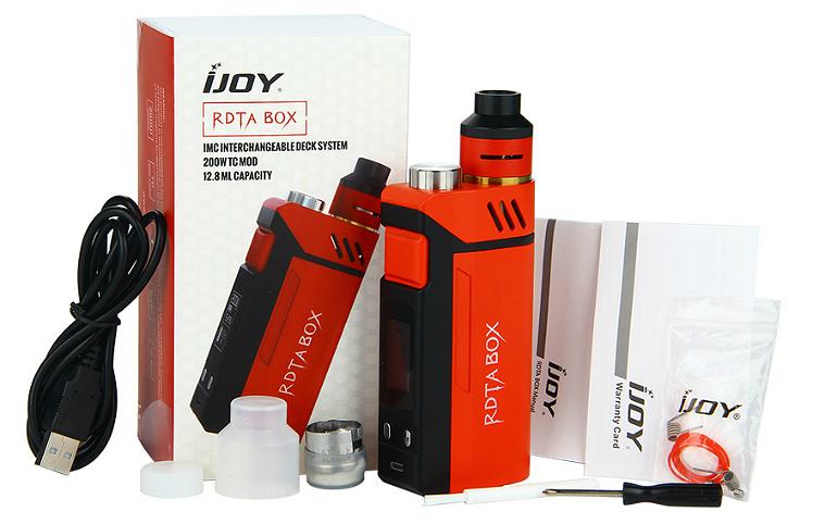 KIT - IJOY RDTA Box ( Stainless )