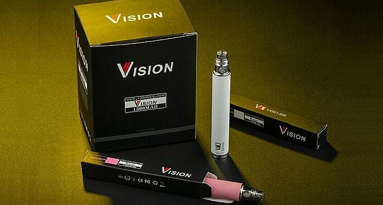ΜΠΑΤΑΡΙΑ - VISION Spinner Upgrade 1300mA VV - 100% Αυθεντική ( ΜΑΥΡΗ )