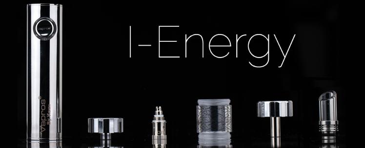 KIT - Vapros I-Energy 1600mAh Kit ( ΜΑΥΡΟ )