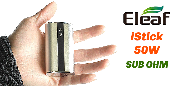 KIT - Eleaf iStick Sub Ohm 50W - 4400mA VV/VW ( Red )