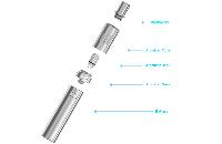 KIT - Joyetech eGo ONE Mini 850mAh Sub Ohm Kit ( Water Blue ) εικόνα 4