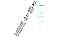 KIT - Joyetech eGo ONE Mega 2600mAh Sub Ohm Kit ( Black ) εικόνα 4