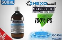 D.I.Y. - 500ml HEXOcell eLiquid Base (100% PG, 8mg/ml Nicotine) εικόνα 1