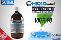 D.I.Y. - 500ml HEXOcell eLiquid Base (100% PG, 32mg/ml Nicotine) εικόνα 1