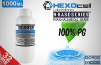 D.I.Y. - 1000ml HEXOcell eLiquid Base (100% PG, 32mg/ml Nicotine) εικόνα 1