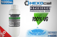 D.I.Y. - 1000ml HEXOcell eLiquid Base (100% VG, 0mg/ml Nicotine) εικόνα 1
