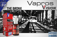 30ml THE BRONX 18mg eLiquid (With Nicotine, Strong) - eLiquid by Vapros/Vision εικόνα 1