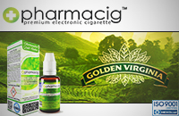 30ml GOLDEN TOBACCO 18mg eLiquid (With Nicotine, Strong) - eLiquid by Pharmacig εικόνα 1