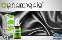 30ml SILVER SILK 18mg eLiquid (With Nicotine, Strong) - eLiquid by Pharmacig εικόνα 1