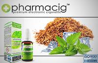 30ml TOBACCO & MINT 9mg eLiquid (With Nicotine, Medium) - eLiquid by Pharmacig εικόνα 1