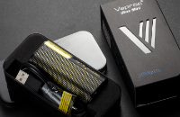 KIT - Vapros iBox Mini 30W Sub Ohm - 2000mAh VV/VW ( Black ) εικόνα 1