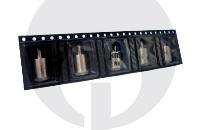 KIT - Janty eGo C VV 900mAh με Kuwako E-Pipe Επέκταση ( Διπλή Κασετίνα - Μεταβλητής Τάσης - ΜΑΥΡΟ ) εικόνα 10