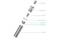 KIT - Eleaf iJust 2 Sub Ohm Kit ( Stainless ) εικόνα 3