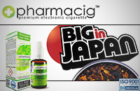 30ml BIG IN JAPAN 9mg eLiquid (With Nicotine, Medium) - eLiquid by Pharmacig εικόνα 1