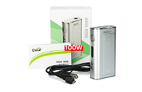 KIT - Eleaf iStick Sub Ohm 100W - Dual 18650 VV/VW ( Silver ) εικόνα 1