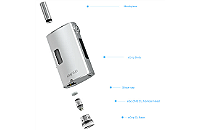 KIT - Joyetech eGrip OLED CL 30W VV/VW ( Stainless ) εικόνα 4