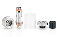 ΑΤΜΟΠΟΙΗΤΉΣ - ASPIRE Cleito 70W 0.2Ω No-Chimney Clearomizer ( Stainless ) εικόνα 3