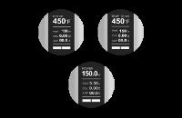 KIT - Joyetech CUBOID 150W - 200W TCR Box Mod ( Grey ) εικόνα 7