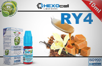 10ml RY4 0mg eLiquid (Without Nicotine) - Natura eLiquid by HEXOcell εικόνα 1