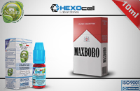 10ml MAXBORO 18mg eLiquid (With Nicotine, Strong) - Natura eLiquid by HEXOcell εικόνα 1