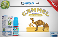 10ml CAMMEL 18mg eLiquid (With Nicotine, Strong) - Natura eLiquid by HEXOcell εικόνα 1