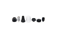 ΑΤΜΟΠΟΙΗΤΉΣ - VISION / VAPROS KinTa Ceramic Coil Atomizer with RBA Kit ( Stainless ) εικόνα 4