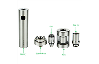 KIT - Joyetech eGo ONE V2 XL 2200mAh Full Kit ( Silver ) εικόνα 5