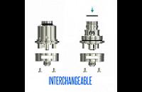 ΑΤΜΟΠΟΙΗΤΉΣ - Eleaf Lemo 3 Rebuildable & Changeable Head Atomizer ( Stainless ) εικόνα 8