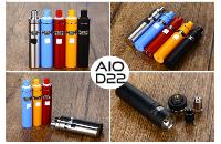 KIT - Joyetech eGo AIO D22 Full Kit ( Black ) εικόνα 3