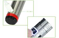 ΜΠΑΤΑΡΙΑ - VISION Spinner Plus Sub Ohm Variable Voltage Battery ( Stainless ) εικόνα 5