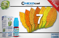 10ml 7 FOGLIE 3mg eLiquid (With Nicotine, Very Low) - Natura eLiquid by HEXOcell εικόνα 1