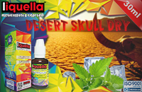 30ml DESERT SKULL DRY 6mg eLiquid (With Nicotine, Low) - Liquella eLiquid by HEXOcell εικόνα 1