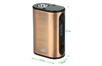 ΜΠΑΤΑΡΙΑ - Eleaf iStick Power Nano 40W TC ( Brushed Silver ) εικόνα 2