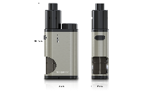 KIT - Eleaf Pico Squeeze Squonk Mod Full Kit ( Black ) εικόνα 3