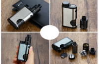 KIT - Eleaf Pico Squeeze Squonk Mod Full Kit ( Silver ) εικόνα 7