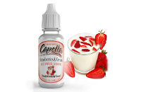 D.I.Y. - 13ml STRAWBERRIES & CREAM eLiquid Flavor by Capella εικόνα 1