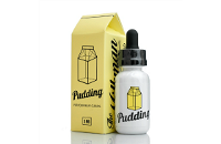 30ml PUDDING 6mg MAX VG eLiquid (With Nicotine, Low) - eLiquid by The Vaping Rabbit εικόνα 1
