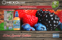 60ml FOREST FRUITZ SPECIAL EDITION 9mg High VG eLiquid (With Nicotine, Medium) - Natura eLiquid by HEXOcell εικόνα 1