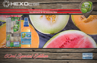 60ml FOREST MELONZ SPECIAL EDITION 9mg High VG eLiquid (With Nicotine, Medium) - Natura eLiquid by HEXOcell εικόνα 1