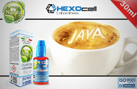 30ml JAVA COFFEE 6mg 80% VG eLiquid (With Nicotine, Low) - Natura eLiquid by HEXOcell εικόνα 1