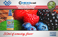 D.I.Y. - 30ml FOREST FRUITS 0mg 65% VG TPD Compliant Shake & Vape eLiquid by Natura εικόνα 1